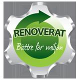 Renoverat - bättre för miljön!